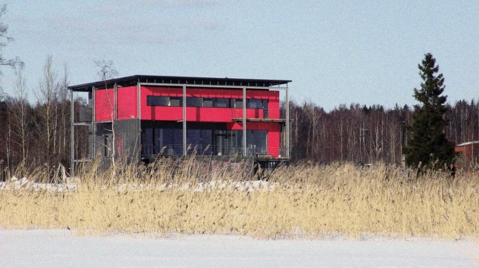 Яхт-клуб Лавола. Главное здание
