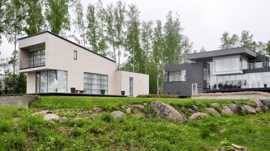 Проект 21. Гостевой дом с баней